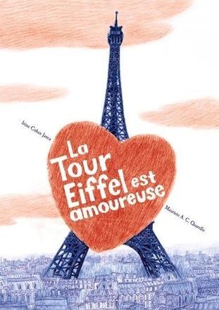 Couverture La tour Eiffel est amoureuse