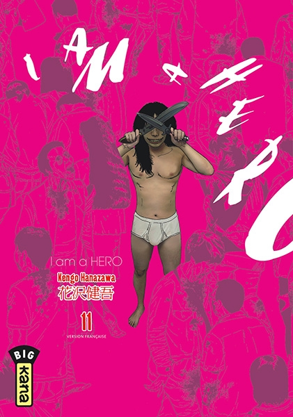 Couverture I am a hero, tome 11