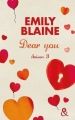 Couverture Dear you, intégrale, tome 3 Editions Harlequin (&H) 2014