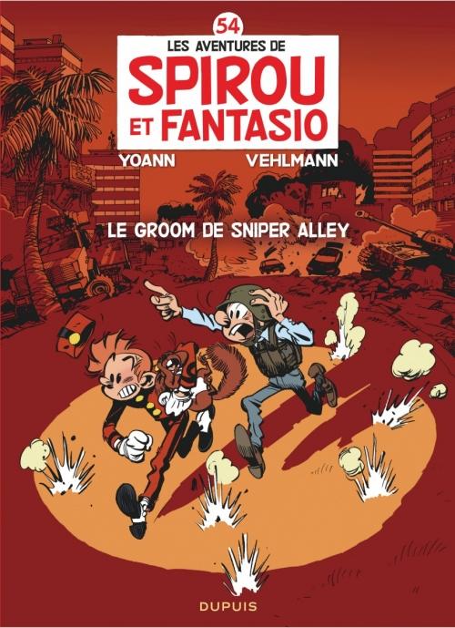 Couverture Spirou et Fantasio, tome 54 : Le groom de Sniper Alley