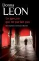 Couverture Le garçon qui ne parlait pas Editions Calmann-Lévy 2015