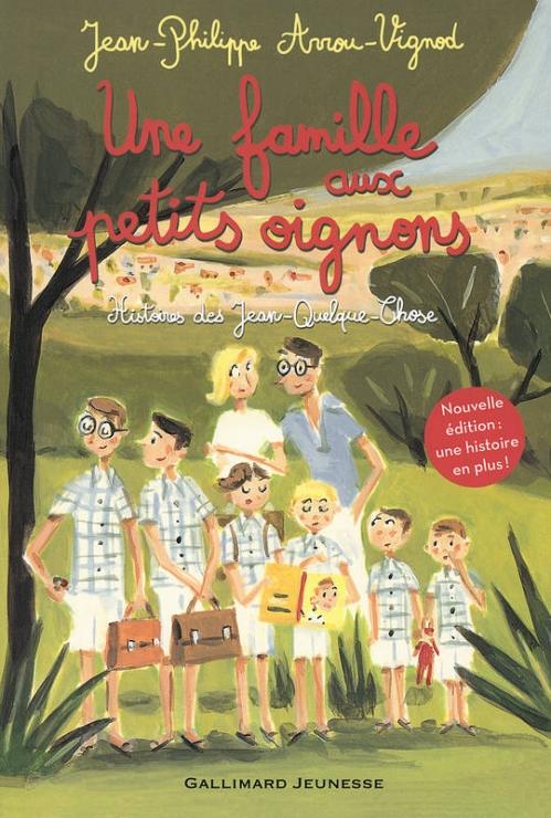 Couverture Histoires des Jean-Quelque-Chose : Une famille aux petits oignons