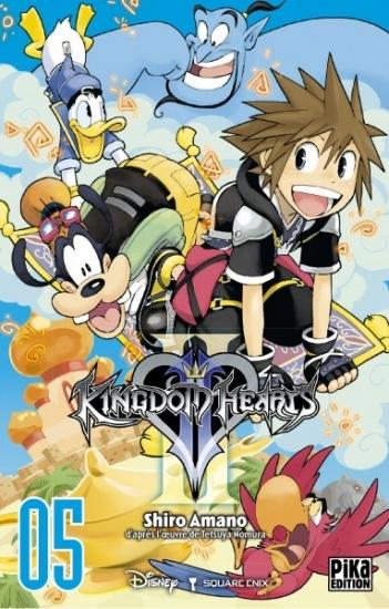Couverture Kingdom Hearts II, tome 05