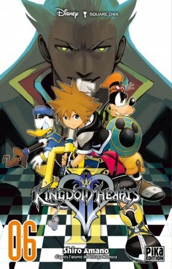 Couverture Kingdom Hearts II, tome 06