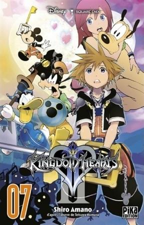 Couverture Kingdom Hearts II, tome 07