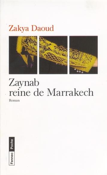 Couverture Zaynab reine de Marrakech