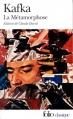 Couverture La métamorphose Editions Folio  (Classique) 2000