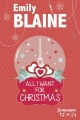 Couverture All I want for Christmas Editions Harlequin (FR) (HQN) 2014