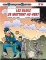 Couverture Les Tuniques Bleues, tome 58 : Les bleus se mettent au vert Editions Dupuis 2014