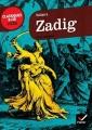 Couverture Zadig / Zadig ou la destinée Editions Hatier (Classiques & cie - Lycée) 2012