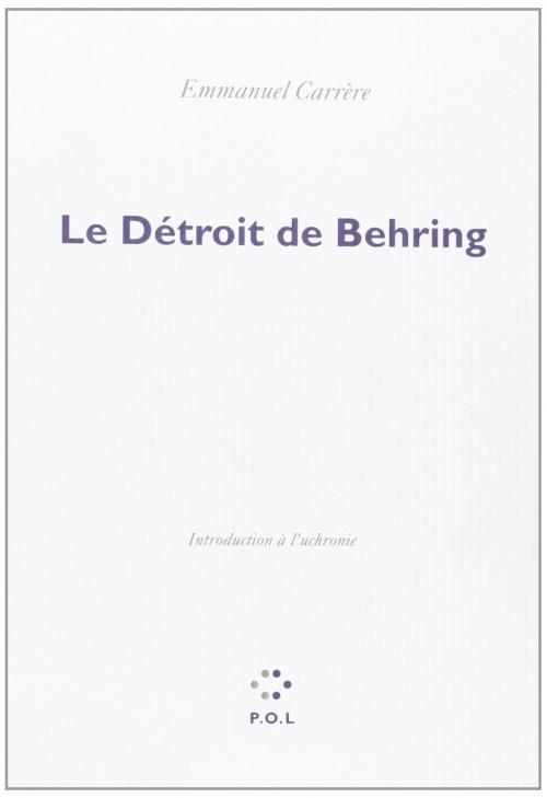 Couverture Le Détroit de Behring