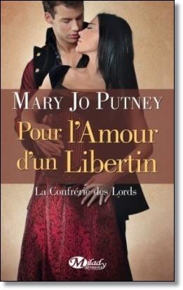 Couverture La Confrérie des Lords, tome 3 : Pour l'amour d'un libertin