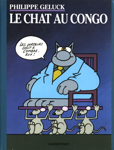 Couverture Le Chat, tome 05 : Le Chat au Congo
