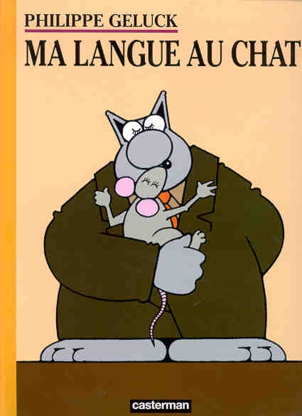 Couverture Le Chat, tome 06 : Ma langue au Chat