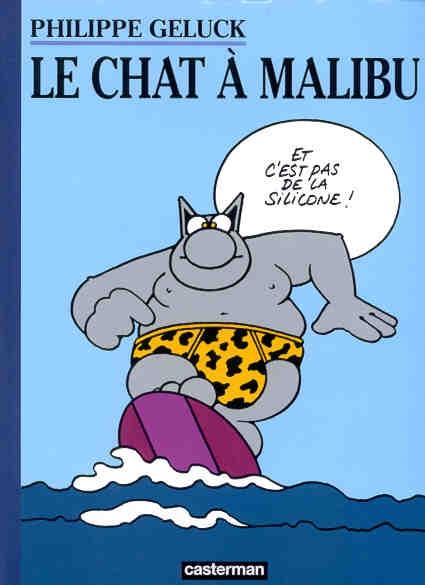 Couverture Le Chat, tome 07 : Le Chat à Malibu
