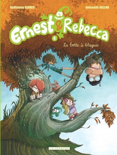 Couverture Ernest & Rebecca, tome 6 : La boîte à blagues