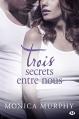 Couverture Drew Fable, tome 3 : Trois secrets entre nous Editions Milady (Romance) 2015