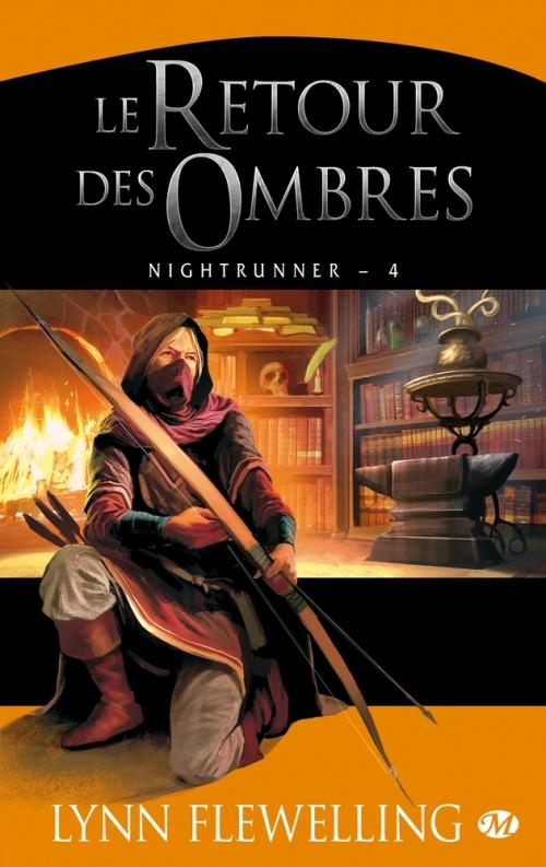 Couverture Nightrunner, tome 4 : Le retour des Ombres
