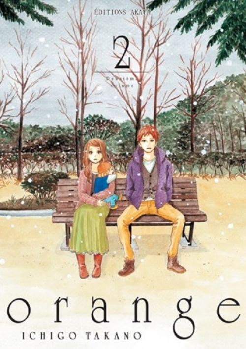 Couverture Orange, tome 2
