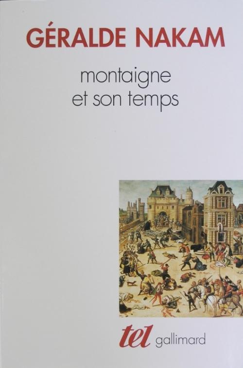 Couverture Montaigne et son temps
