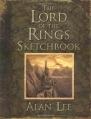 Couverture Cahier de croquis du Seigneur des Anneaux Editions Houghton Mifflin Harcourt 2005