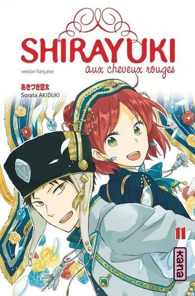 Couverture Shirayuki aux cheveux rouges, tome 11
