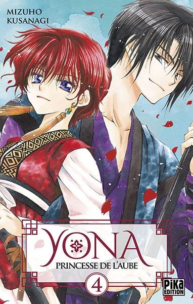 Couverture Yona, princesse de l'aube, tome 04
