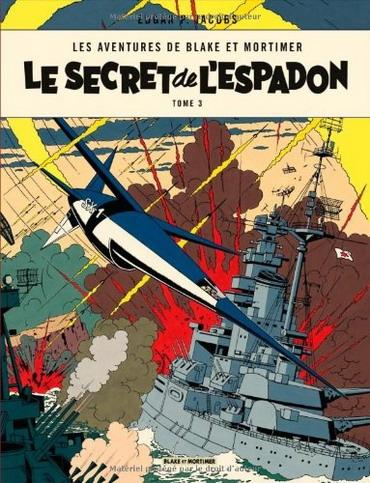 Couverture Blake et Mortimer, tome 03 : Le Secret de l'Espadon, partie 3 : SX1 contre-attaque