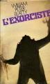 Couverture L'exorciste Editions France Loisirs 1975