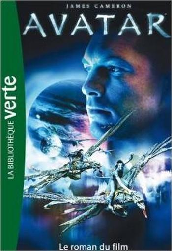 Couverture Avatar : Le roman du film