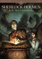 Couverture Sherlock Holmes & le Necronomicon, tome 1 : L'ennemi intérieur Editions Soleil (1800) 2011