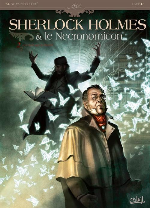 Couverture Sherlock Holmes & le Necronomicon, tome 2 : La nuit sur le monde