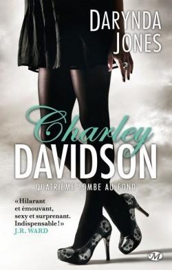 Couverture Charley Davidson, tome 4 : Quatrième tombe au fond