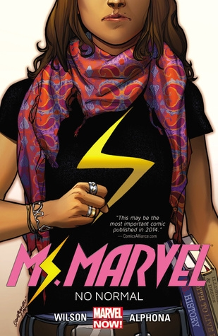 Couverture Miss Marvel (Marvel Now), tome 1 : Métamorphose