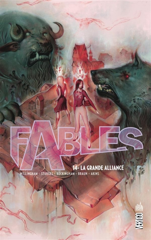 Couverture Fables (cartonné), tome 14 : La Grande Alliance