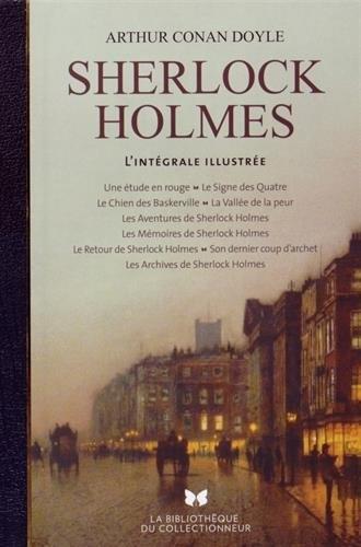 Couverture Sherlock Holmes, intégrale illustrée