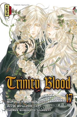 Couverture Trinity Blood, tome 17
