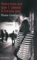Couverture Souviens-toi que l'amour n'existe pas Editions Robert Laffont 2015