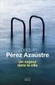 Couverture Un nageur dans la ville Editions Seuil (Cadre vert) 2015