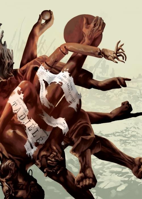 Couverture Tadjélé : Récits d'exil