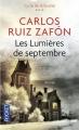 Couverture Les lumières de septembre Editions Pocket 2014