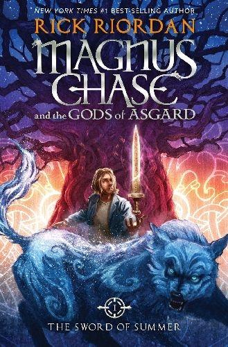 Couverture Magnus Chase et les Dieux d'Asgard, tome 1 : L'épée de l'été