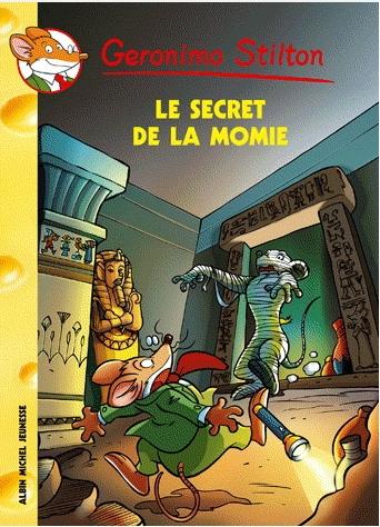 Couverture Le secret de la momie