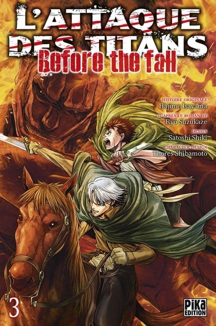 Couverture L'attaque des Titans : Before the fall, tome 03
