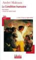 Couverture La condition humaine Editions Folio  (Plus classiques) 2007