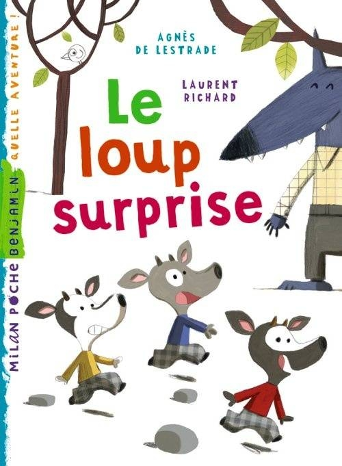 Couverture Le loup surprise