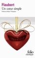 Couverture Un coeur simple Editions Folio  (Classique) 2014