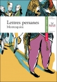 Couverture Lettres persanes Editions Hatier (Classiques & cie) 2005