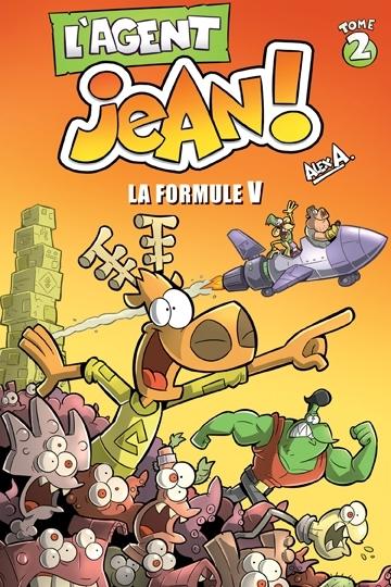 Couverture L'Agent Jean, tome 2 : La formule V