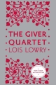 Couverture The Giver Quartet, omnibus Editions Houghton Mifflin Harcourt 2014
